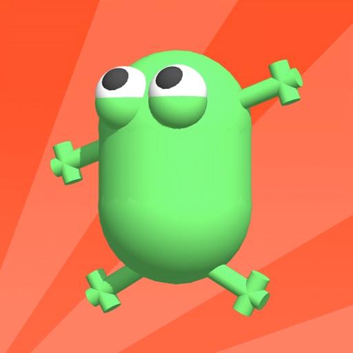 Stretchy Frog-SocialPeta