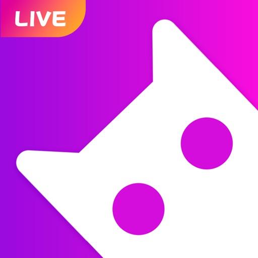 Cat Live-video chat APP-SocialPeta