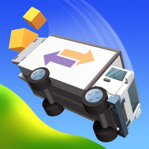 Crash Delivery: car jumping-SocialPeta
