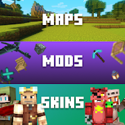 Skins, Mods, Maps for Minecraft PE-SocialPeta