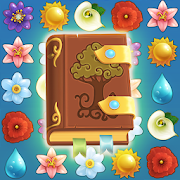 Flower Book: Match-3 Puzzle Game-SocialPeta