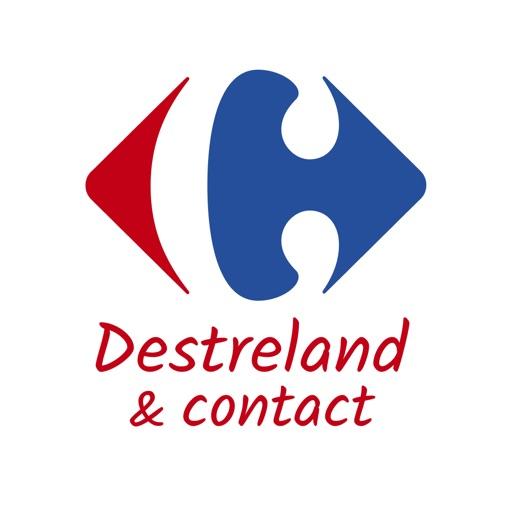 Carrefour Destreland & Contact-SocialPeta