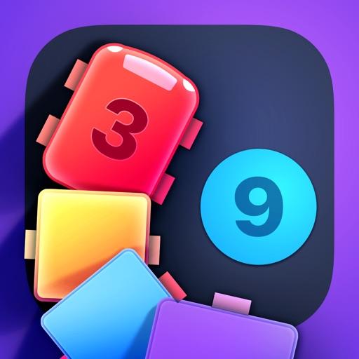 IQ Train -  Number Snake Game-SocialPeta