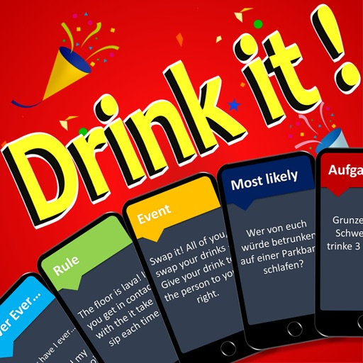 Drink it - Drinking Game-SocialPeta