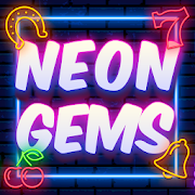Neon Gems-SocialPeta