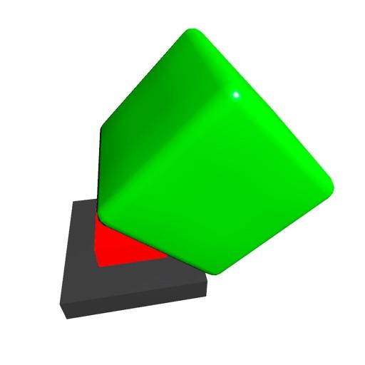 Green Cube-SocialPeta