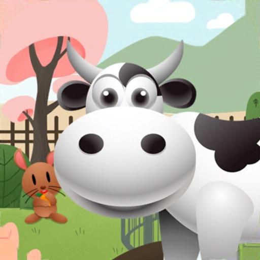 Funky Farm Animals-SocialPeta
