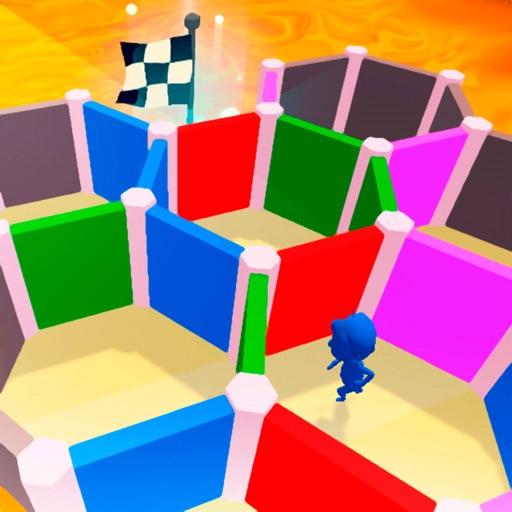 Maze Rush 3D-SocialPeta