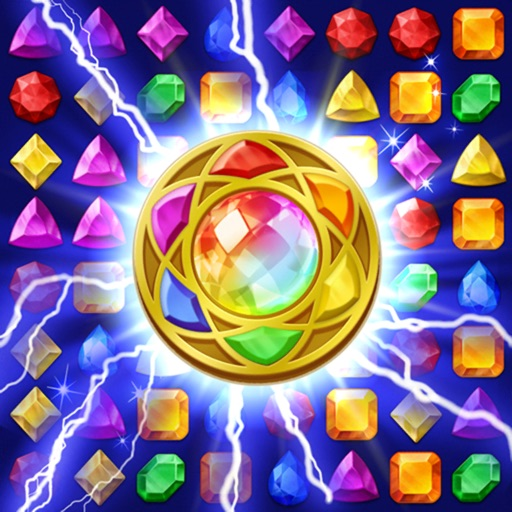Jewels Magic: Mystery Match3-SocialPeta