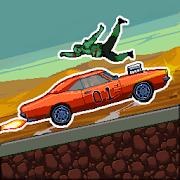 Drive or Die - Zombie Pixel Derby Racing-SocialPeta