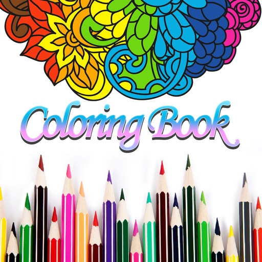 Adult Coloring Book Color Page-SocialPeta