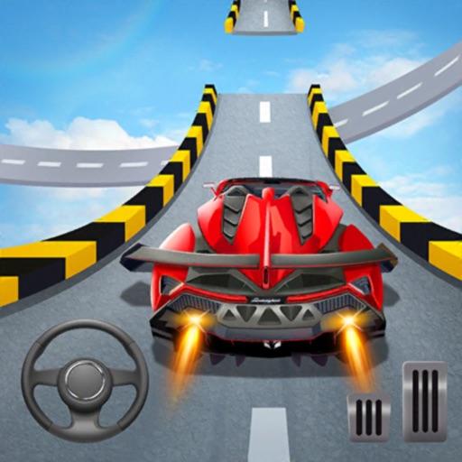 Car Stunts 3D - Sky Parkour-SocialPeta