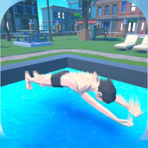 Belly Flop 3D-SocialPeta