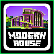 Modern House Map for MCPE-SocialPeta