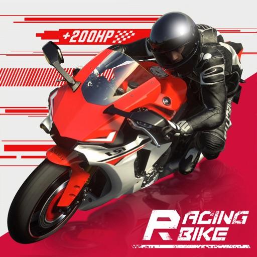 Racing Bike :Motorcycle Rider-SocialPeta