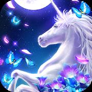 Graceful Unicorn Live Wallpaper-SocialPeta