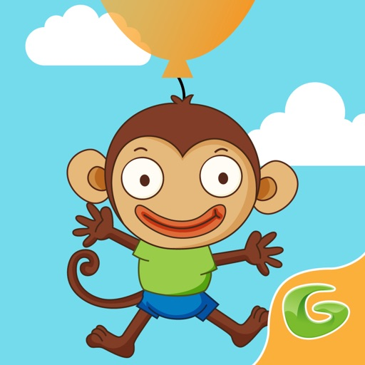 Monkey Balloon Pop Rescue-SocialPeta