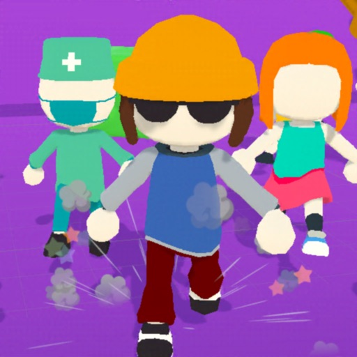 Run Guys 3D-SocialPeta