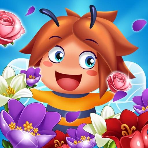 Blossom Pop -Swipe flower-SocialPeta