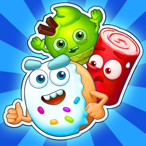 Sugar Heroes - World match 3-SocialPeta