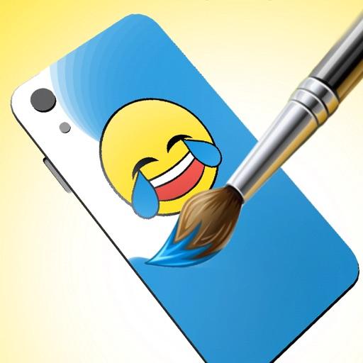 Color the Phone 3D-SocialPeta