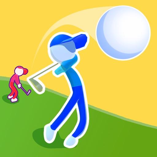Golf Race-SocialPeta