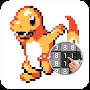 Pixel Art:  Color Number Free-SocialPeta