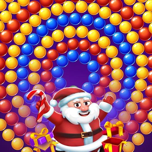 Christmas Games - Bubble Pop-SocialPeta