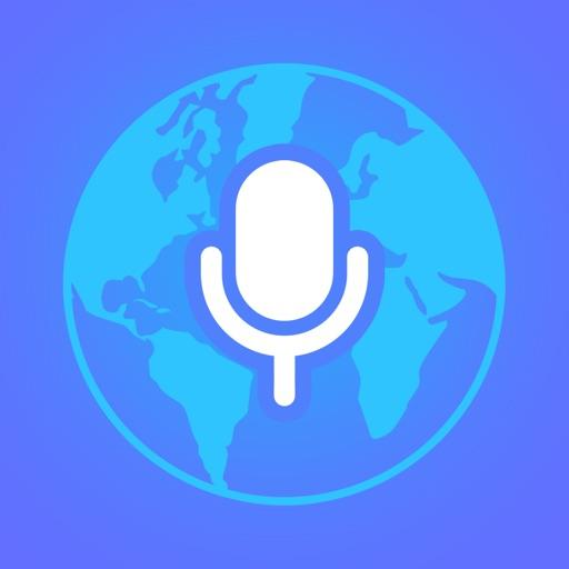 Voice Translator App.-SocialPeta