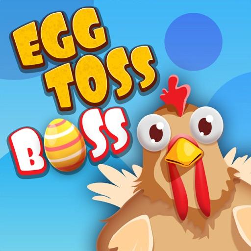 Egg Toss Boss-SocialPeta
