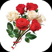 Stickers Fleurs & Roses Autocollant WAStickerApps-SocialPeta