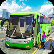 City Coach Bus Driving Simulator 3D: City Bus Game-SocialPeta