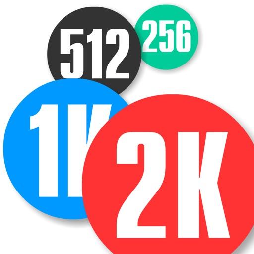 Merge Bubbles 2K-SocialPeta
