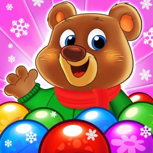 Bubble Pop - Bubble Friends-SocialPeta