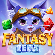 Fantasy Gems : Match 3 Puzzle-SocialPeta