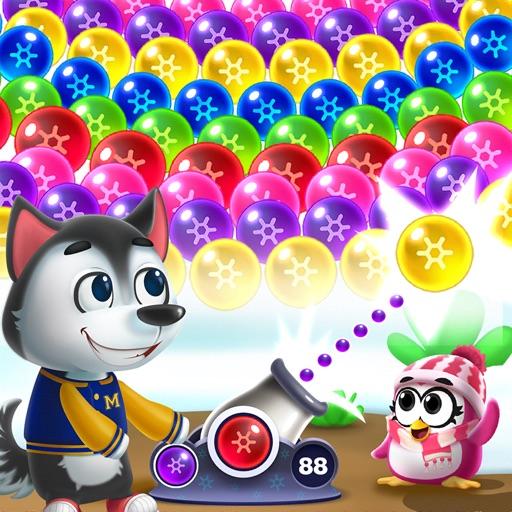 Frozen Pop - Bubble Shooter-SocialPeta