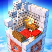 Tower Craft 3D - Idle Block Building Game-SocialPeta