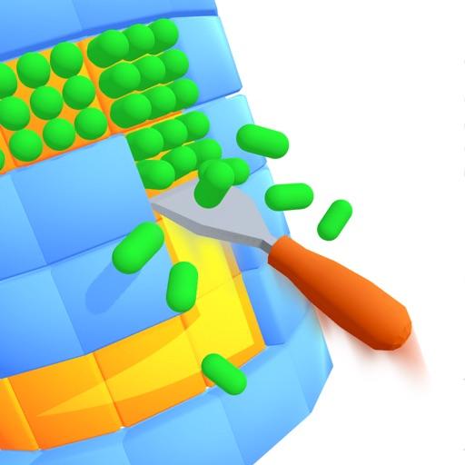 Round Clean 3D-SocialPeta