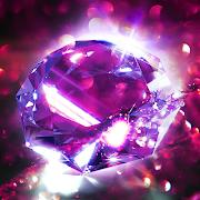 Diamond Wallpaper for Girls and Keyboard-SocialPeta