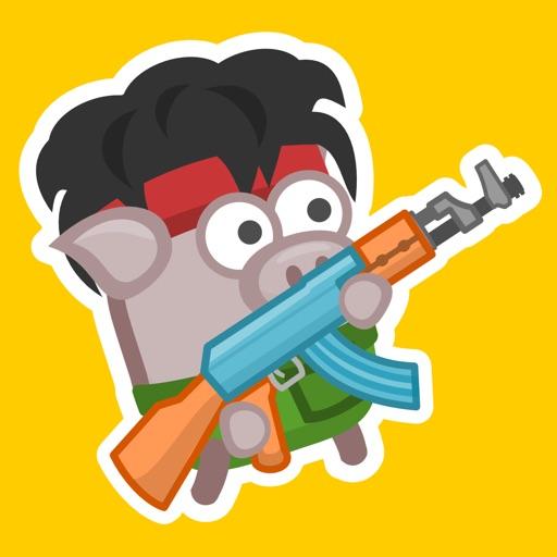 Bacon May Die: run,gun,fight!-SocialPeta