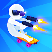 Stickman Skate 3D-SocialPeta