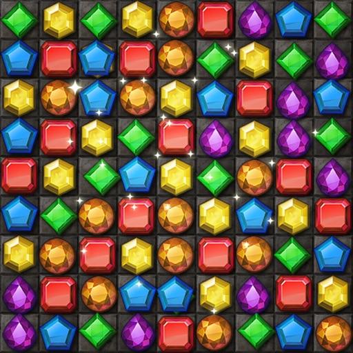 Jewels Temple Quest - Match 3-SocialPeta