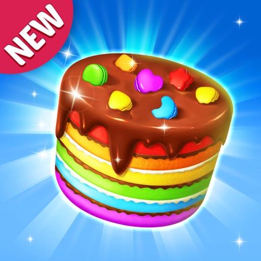 Cake Jam Drop - New Match Game-SocialPeta