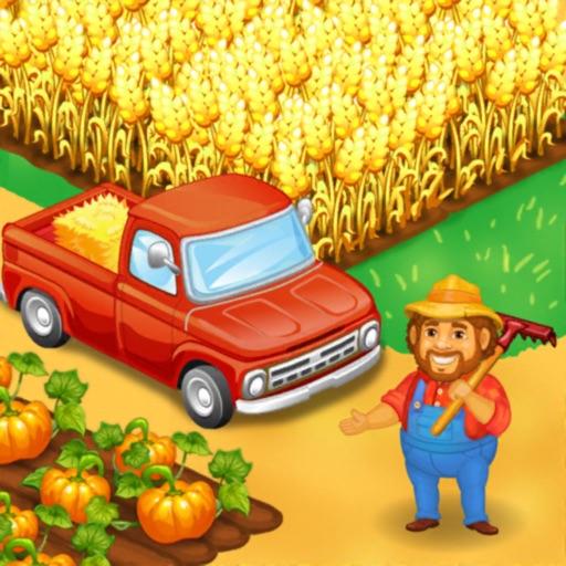 Farm Town: Happy farming Day-SocialPeta