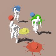 Crowd Paint-SocialPeta