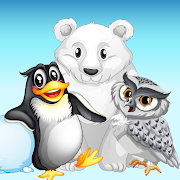 Puzzle games for kids - learn animals-SocialPeta