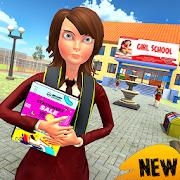 Virtual High School Simulator: Super Girl and Boy-SocialPeta